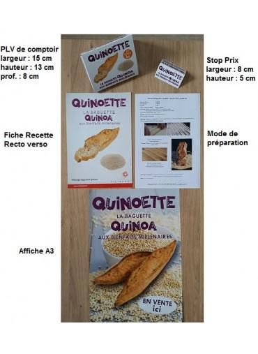 Kit marketing quinoette